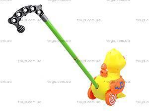 Детская игрушка-каталка «Уточка», 71557, купить