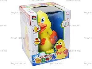 Детская игрушка-каталка «Уточка», 71557, фото