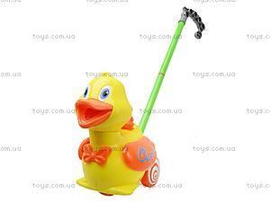 Детская игрушка-каталка «Уточка», 71557, цена