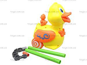 Детская игрушка-каталка «Уточка», 71557, игрушки