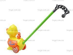 Детская игрушка-каталка «Уточка», 71557, детские игрушки