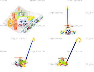 Детская игрушка-каталка «Вертолет», 8615