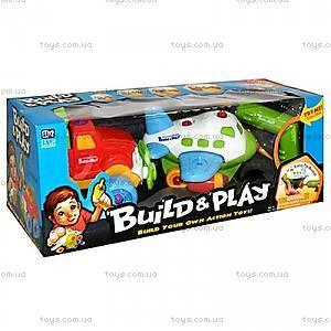 Детская игрушка-конструктор «Самолет и джип», K11866