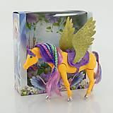 Детская игрушка «Лошадь с крыльями» с аксессуарами, 66615, фото
