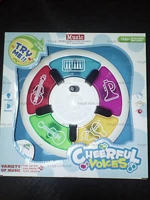 Детская игрушка «Музыкальный диск», JLD333-13A