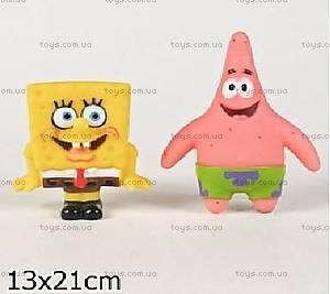Детская игрушка пищалка Губка Боб и Патрик, 128R