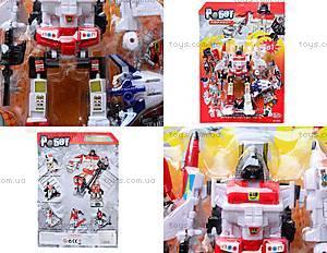 Детская игрушка-робот «Трансформер», 8020