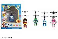 Детская игрушка с запуском Robocar Poli, TL8018A, фото