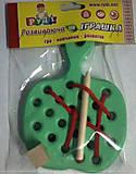Детская игрушка-шнуровка «Яблоко», Д583у, фото