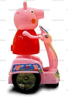 Детская игрушка «Свинка Пеппа на мотоцикле», PP-011B, фото