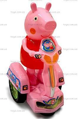 Детская игрушка «Свинка Пеппа на мотоцикле», PP-011B