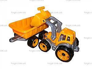 Детская игрушка «Трактор с ковшом и прицепом», 3688, toys