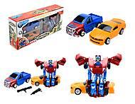 Детская игрушка «Трансформер - машина», TD2023, отзывы