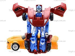 Детская игрушка «Трансформер - машина», TD2023, игрушки