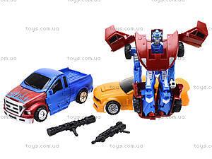 Детская игрушка «Трансформер - машина», TD2023, магазин игрушек