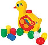 Детская игрушка «Уточка-несушка», 6219, фото