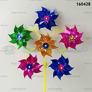 Детская игрушка ветрячок «Цветочек», 160429