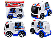 Детская инерционная машина «Полиция», X021-C5
