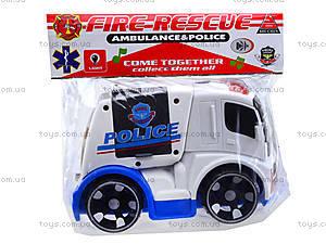 Детская инерционная машина «Полиция», X021-C5, отзывы