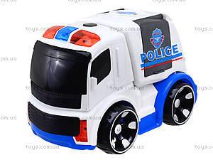 Детская инерционная машина «Полиция», X021-C5, игрушки