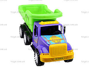 Детская инерционная Машина Самосвал «Дампер», 13-001-80, toys
