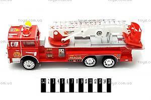 Детская инерционная пожарная машинка, 101