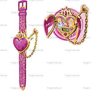 Детские часы Disney Princess с ключом, DPRJ25, купить