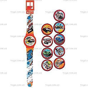 Детские часы Hot Wheels с набором сменных панелей, HWRJ15, купить