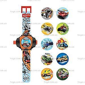 Детские часы Hot Wheels, с проектором, HWRJ13, купить
