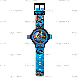 Детские часы Hot Wheels с проектором, HWRJ26, купить