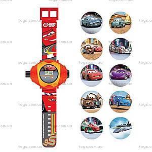 Детские часы «Тачки» с проектором, CARJ13, купить