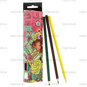 Детские цветные карандаши, 12 штук, WXBB-US1-3P-12, купить