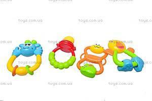 Детские игровые погремушки в наборе, 8401B