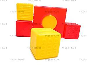Детские кубики-конструктор «Строитель», , купить