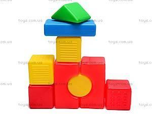 Детские кубики-конструктор «Строитель», , фото
