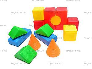 Детские кубики-конструктор «Строитель», , отзывы