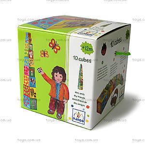 Детские кубики «Природа и животные», DJ08506