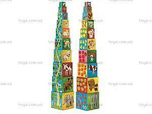 Детские кубики «Природа и животные», DJ08506, купить
