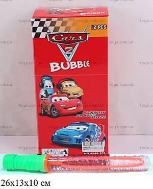 Детские мыльные пузыри «Тачки», 4948-109