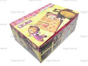 Детские пазлы «Маша и Медведь», 054покММ, детские игрушки