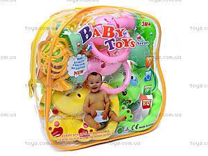 Детские погремушки, в рюкзачке, 819В-4, детские игрушки