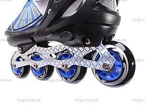 Детские роликовые коньки, синие, F1-V9 39-42, цена