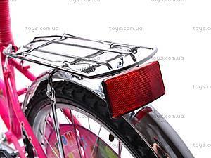 Детский 2-х колесный велосипед, 132012, детские игрушки