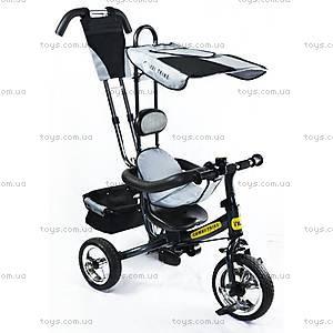 Детский 3-колесный велосипед, серый, BT-CT-0002 GR