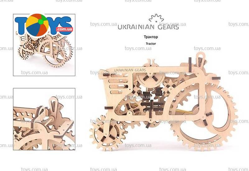 3D-пазл UGears Трактор