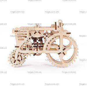 Детский 3D пазл «Механический трактор», 70003