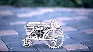 Детский 3D пазл «Механический трактор», 70003, фото