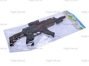 Детский автомат, со звуковыми эффектами, AK-1, фото