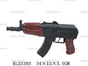 Детский автомат «Военный», EL21393