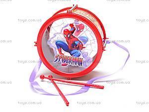 Детский барабан «Человек-паук», 2833-2
